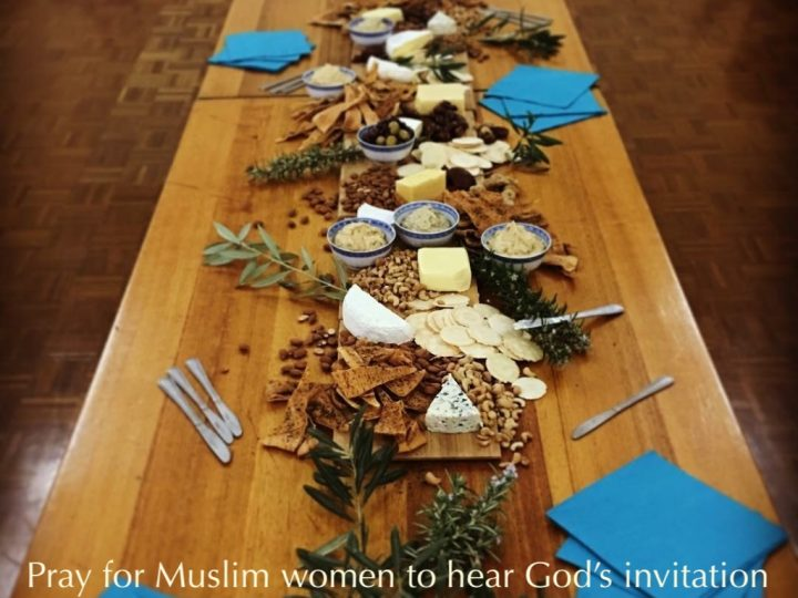 An invitation from God to his table