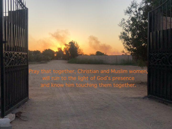 The light of God's presence